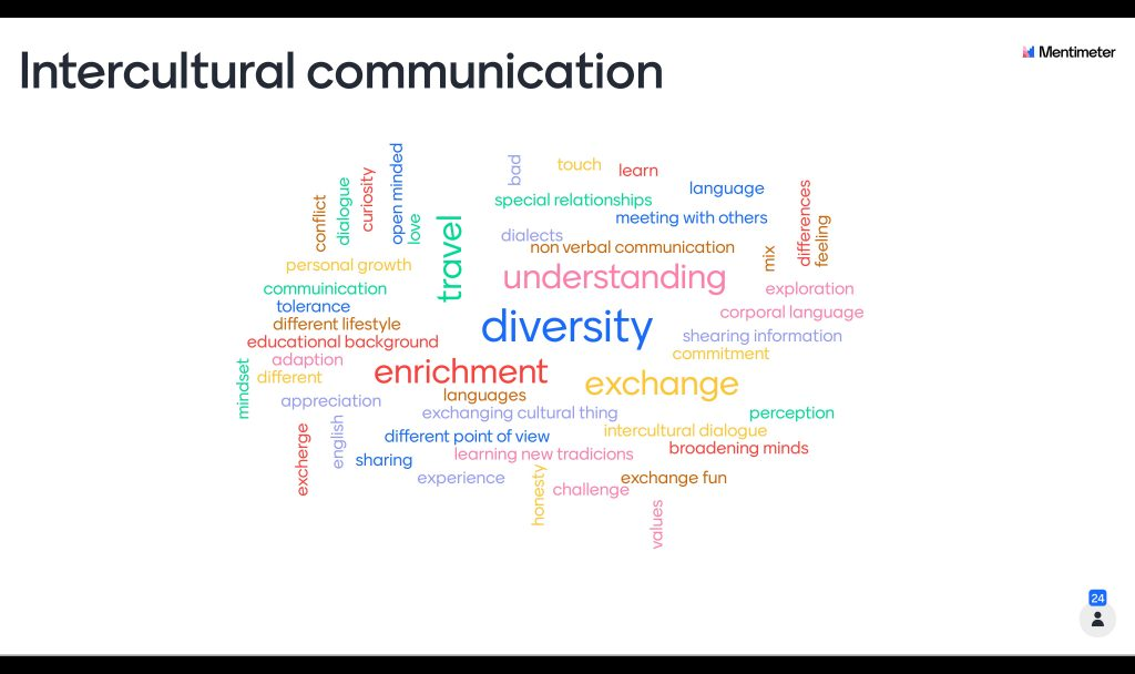 BIC First Piloting Session - What Intercultural Communication means to you?